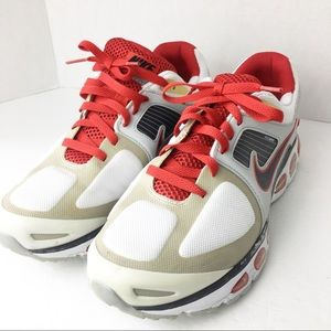 SZ 10 Nike Air Trailwind Flywire Red & White